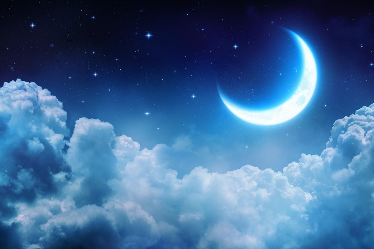 Zij en de maan